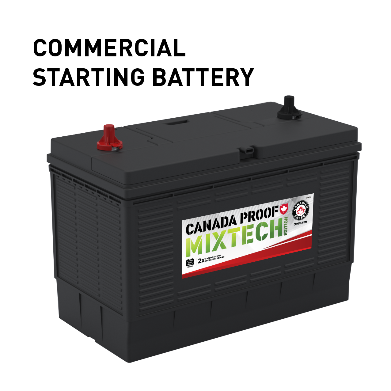 CP MIXTECH Commercial Starting Battery